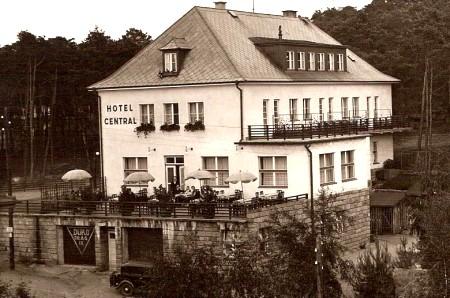 Hotel Central vor dem 2. Weltkrieg