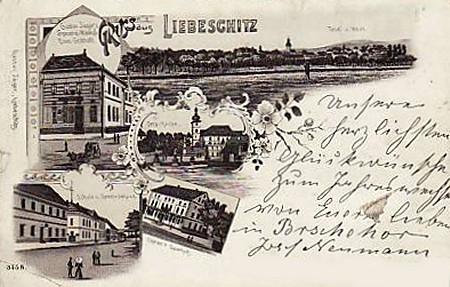 Liebeschitz, heute Libesice
