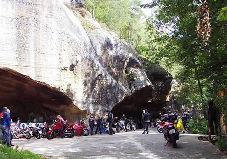 Motorradclub Pekelne Doly in Tschechien